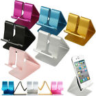 Universal Aluminum Cell Phone Desk Stand Holder For Tablet iPhone Samsung New