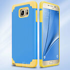 Shockproof Rugged Hybrid Rubber Hard Cover Case for Samsung Galaxy Note 5