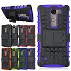 Hybrid Rugged Armor Impact Hard Case Kickstand Cover For LG Spirit C70 Escape 2