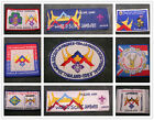 20th World Scout Jamboree 2003 Thailand WSJ Contingent / Unit Badge / IST Patch