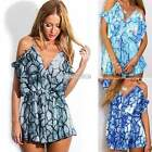 Boho Women Ladies Clubwear Playsuit Party Jumpsuit & Romper Trousers Chiffon S0B