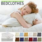 BedClothes 6 Piece 1800 Series Solid Sheet Set Deep Pockets Microfiber Bedding image