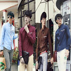Italian Design Shirts Men Stylish Slim Fit Casual Formal Dress Shirt Button Down