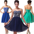 2015 SEMI Formal Party Bridesmaids Evening Gown Cocktail HOMECOMING Mini Dresses