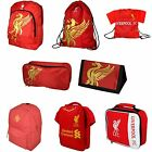 Official Liverpool Football Club Red Backpack / Wallet / Gym / Shoe Bag