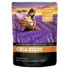 POWER SUPER FOODS - BLACK & WHITE CHIA POWER - ALL SIZES + FREE SHIPPING