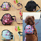 Vogue Pet Bag Backpack Travel Carrier For Dog Puppy Cats With Leash