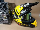 New 2016 Fly Rockstar Helmet Dragon Goggles Motocross Road Legal  S M L XL
