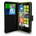 PU Leather STAND BOOK Pouch CaseCover For Various Nokia Lumia Mobile+FreePOSTAGE