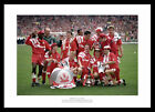 Liverpool 1992 FA Cup Final Team Celebrations Photo Memorabilia (37480)