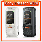Slider Sony Ericsson W850 Black&Silver Unlocked 3G Bluetooth Mobile Cell Phone