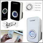 32 Chime Wireless Door Bell 100M Range Quality LLOYTRON Melody Black/White Bells