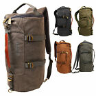 Large Vintage Canvas Ocello College Camping Travel Luggage Hiking Backpack Bag