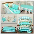 New 12 pcs Bedding Set for COT or COTBED  6 pillows bumper  hangings  love it