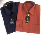 "THE PASHA MAN MENS BUSINESS SHIRT LONG SLEEVE ""NEW LINE"" CORPORATE EVENT FASHION"