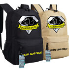 MGS 5 Metal Gear Solid V Diamond Dogs Logo Cosplay Backpack Unisex Shoulder Bags