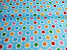 NEW Vintage PolyCotton FLORAL Fabric Daisy FLOWER Craft Metre Reduced Prices