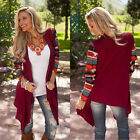 NEW hot Women's Long Sleeve Knitwear Cardigan Loose Outwear Jacket Coat Sweater