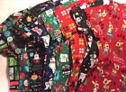 Christmas Holiday Scrub Top - Medical Dental Nursing Vet - You Choose - Disney