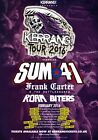 Sum 41 The Kerrang Tour 2016 Photo Print Poster all Killer, No Filler deryck 005