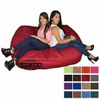 "Bean Bag Chair 6' Foot Cozy Bean Bag 6'x40""x40""Factory Direct Adult Lounger Sack"