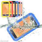 Waterproof Shockproof Dirt SnowProof Cover case for S6 S6 edge blue yellow red