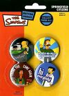 New The Simpsons Springfield Citizens Badge Pack B