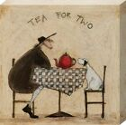 New Tea for Two Sam Toft Canvas Print