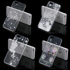 ULTRA THIN CLEAR TPU GEL SKIN CASE COVER TRANSPARENT DEER STAR FAIRY WINTER BIKE