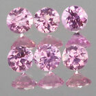 1.6mm Lot 6,10,20,50,100pc Round Cut Calibrated Size Stone Natural Pink SAPPHIRE