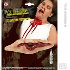 Special Effects SLASHED THROAT FX Make Up BLOODY GORY HALLOWEEN Fancy Dress
