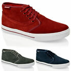 MENS CLASSIC SUEDE LEATHER CHUKKA CASUAL MID LACE UP ANKLE BOOTS SHOES SIZE