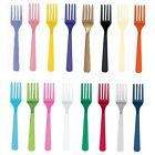 20 Reusable Plastic FORKS (Amscan) (Birthday/Party/Tableware)