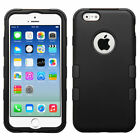 Rugged Hybrid HARD&SOFT Case High Impact Skin Cover For iPhone 6S Plus 5.5 4.7 $8.95 USD