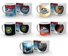 JURASSIQUE WORLD Officiel Céramique MUGS Dinosaures/Park Film écran/Marchandise/