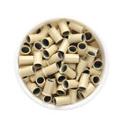 1000pcs Copper Micro Link Tubes Rings 3.5mm Beads for I Tip Hair Extension Tool