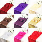 Satin Table Runners Sashes Cloth Chair Cover Wedding Event Runner Hessian Sequin