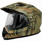 AFX FX-39DS Dual Sport Multi Camo Helmet Motorcycle Bike Quad Street Off Road