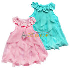 Newborn Baby Girl Flower One-Piece Romper Bodysuit Tutu Dress Outfit Clothes Set