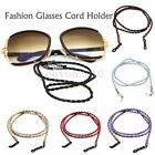 New Fashion Black Leather Glasses Eyeglass Glasses Cord Holder Necklace Chain