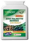 Saw Palmetto Extract 5000mg Men's Health  Bladder  Sex Drive  Prostate Pills