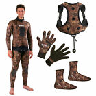 Mares Package Camo Brown 3,5mm Boots + Gloves + Backpack 06DE