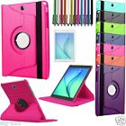 """360 Rotation Leather Stand Case Cover For New Samsung Galaxy Tab A 7"""" 9.7"""" 10.1"""""""
