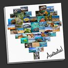 stunning heart  collage canvas print custom personal personalised christmas xmas