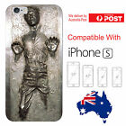 iPhone Silicone Cover Case Star Wars Han Solo Carbonite Yoda Darth - Coverlads $14.95 AUD