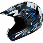 Z1R Roost 3 Launch Motocross Helmet Blue