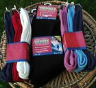 3 Pair Pack of Warm Winter Thermals Socks Size UK 4-6 Choice Of Colours UK