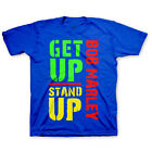 Bob Marley Get Up Stand Up Licensed NWT Toddler T-Shirt - Blue