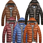 PJ for XMAS Mens BOYS Padded Bubble Quilted Jacket Hooded Warm Winter Coat XS-XL