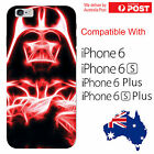 iPhone Silicone Cover Case Neon Darth Vader Evil Over Lord Star Wars - Coverlads $12.95 AUD